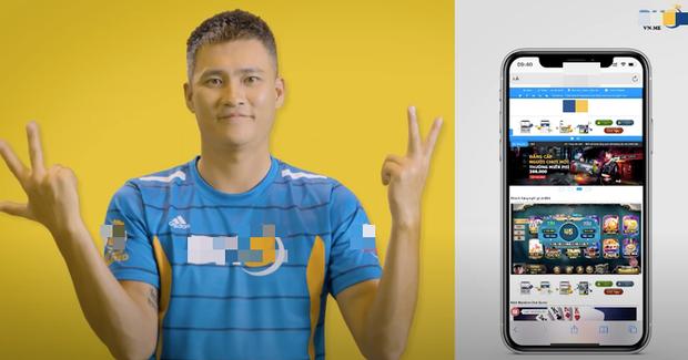 Hình ảnh Công Vinh xuất hiện tràn lan trên các video quảng cáo cho ứng dụng cá cược bóng đá? - Ảnh 2.