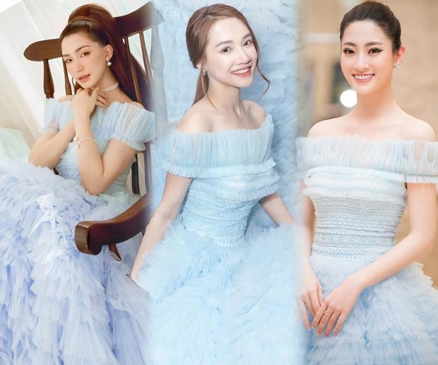 Hòa Minzy đụng hàng Nhã Phương, Lương Thùy Linh: Liệu 2 mẹ bỉm có lép vế trước Hoa hậu vạn người mê? - Ảnh 5.