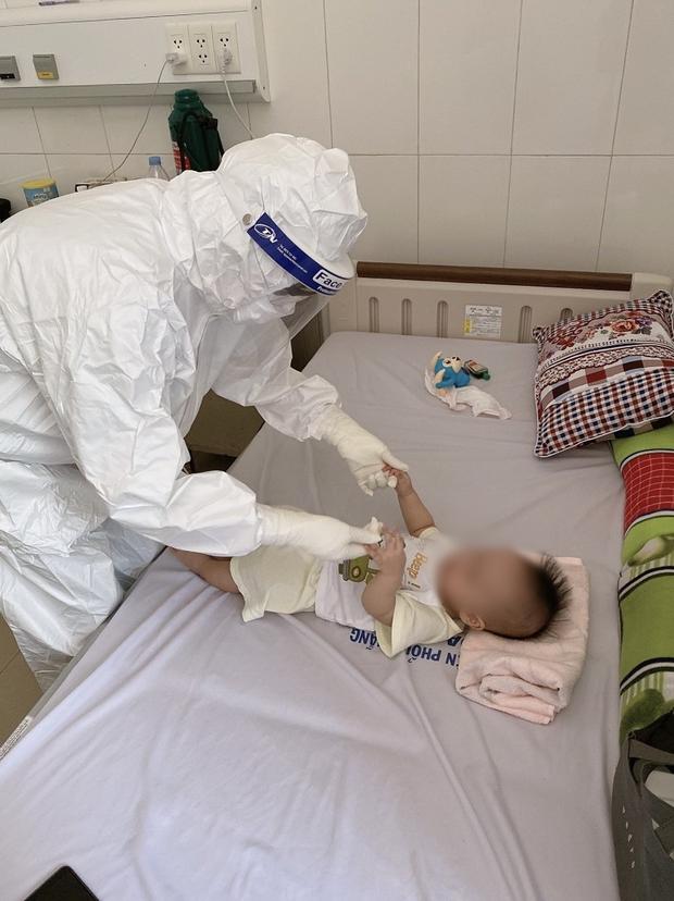 Ngày Quốc tế Thiếu nhi đặc biệt của các cháu bé mắc Covid-19 ở Đà Nẵng - Ảnh 7.
