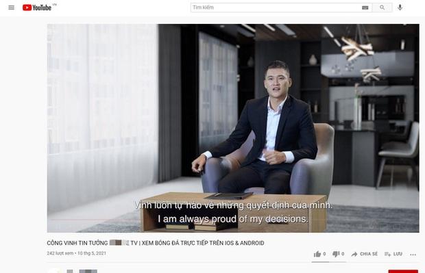 Vui vẻ nhảy múa, Công Vinh tuyên bố tự hào về quyết định của mình trong quảng cáo app cá độ bóng đá - Ảnh 2.