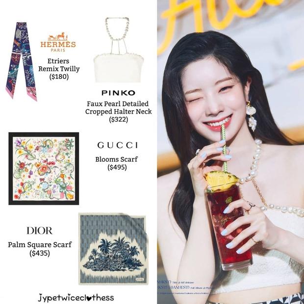 Stylist của TWICE cắt nát khăn Hermès nghìn đô để chế đồ cho idol, kết quả ra sao? - Ảnh 12.