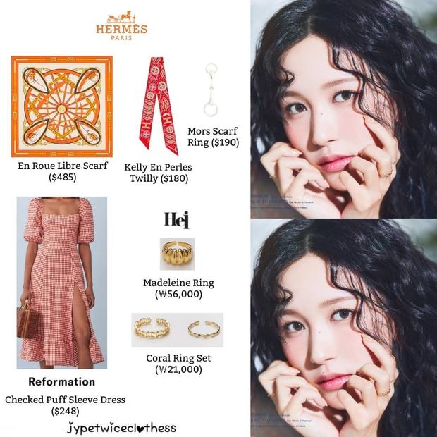 Stylist của TWICE cắt nát khăn Hermès nghìn đô để chế đồ cho idol, kết quả ra sao? - Ảnh 10.