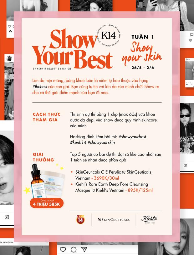 Thêm loạt bài thi khoe da cực cool của Show Your Best, ai sẽ là chủ nhân của những phần quà hấp dẫn đây? - Ảnh 1.
