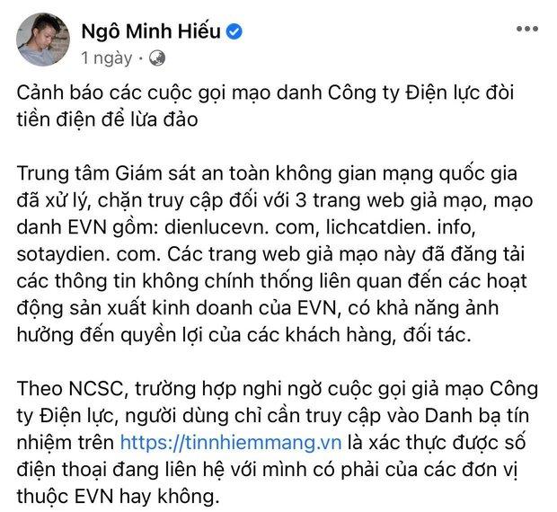 Hiếu PC và Điện lực Việt Nam lên tiếng cảnh báo chiêu trò lừa đảo, mạo danh đòi tiền điện đang diễn ra rầm rộ! - Ảnh 3.