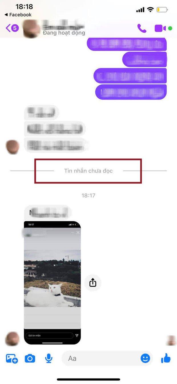 Messenger vừa có tính năng mới, người dùng khỏi lo tình trạng bỏ quên không đọc! - Ảnh 3.