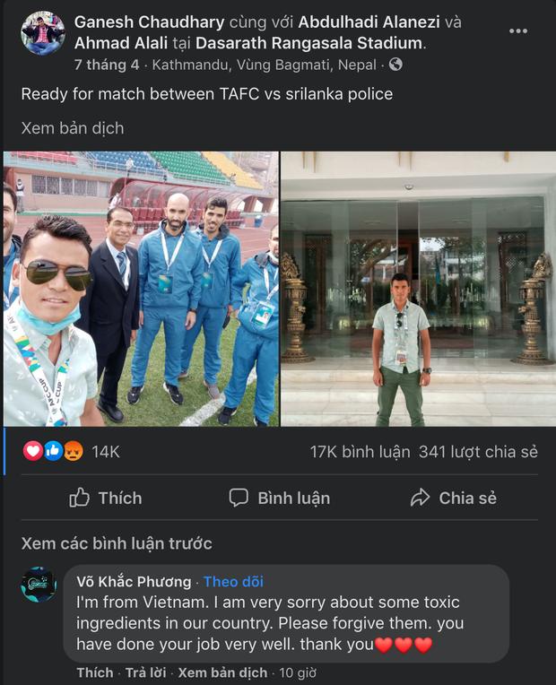 Cộng đồng mạng Việt tiếp tục tràn vào Facebook trọng tài và cầu thủ Indonesia, kẻ làm loạn, người phải đi dọn dẹp - Ảnh 4.