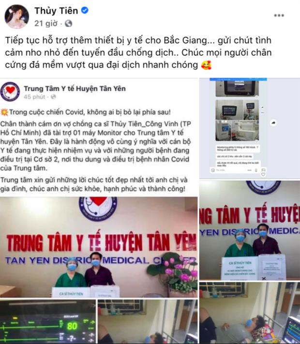 Thuỷ Tiên đổi mới cách làm từ thiện sau khi vướng liên hoàn biến, netizen vào nhắc nhở minh bạch liền bị đáp trả ngay và luôn! - Ảnh 2.