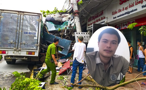 Tài xế container đánh lái cứu 2 người, tông vào nhiều nhà dân xin dừng nhận tiền hỗ trợ - Ảnh 1.