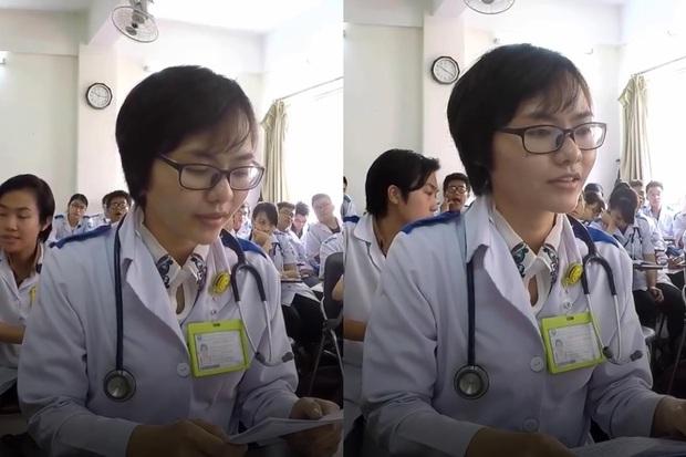Học Y dễ hay khó? Xem clip nữ sinh thi vấn đáp mà hồi hộp muốn thòng tim ra ngoài  - Ảnh 2.