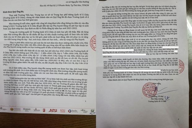 Phụ huynh Trường Quốc tế Á Châu: Nhà trường đơn phương ngưng tiếp nhận học sinh khiến các em bị tổn thương!  - Ảnh 1.