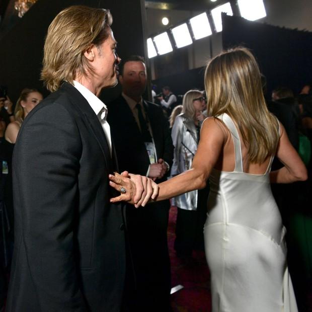 Hôn nhân đầu tiên của Brad Pitt: Tỏ tình trên thảm đỏ rồi toang vì tiểu tam Angelina, từ thù thành bạn với vợ cũ sau 15 năm - Ảnh 12.