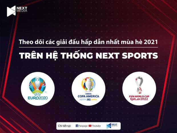 Next Media sở hữu độc quyền Copa America và quyền khai thác trên digital UEFA EURO 2020 - Ảnh 1.
