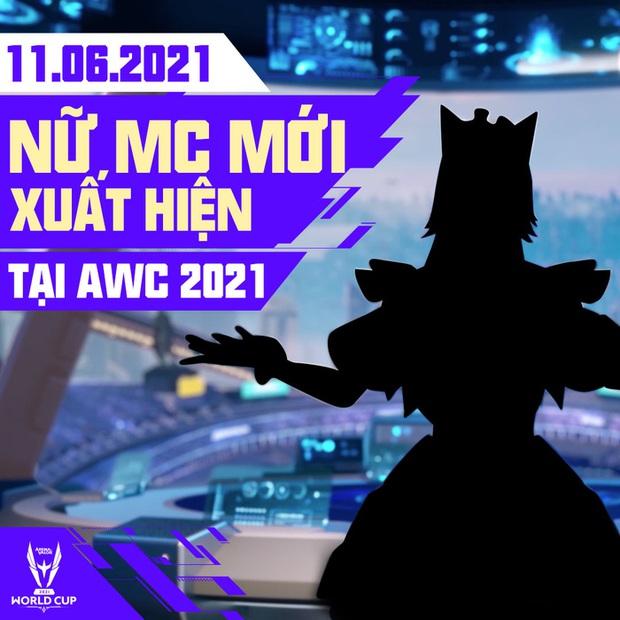 AWC 2021 nhá hàng MC mới, fan bất ngờ gọi tên ông vua check map ProE - Ảnh 1.