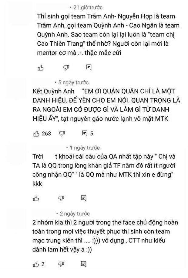 Mạc Trung Kiên bị netizen gọi là bù nhìn khi để cho cố vấn cân hết cả team The Face Online! - Ảnh 4.