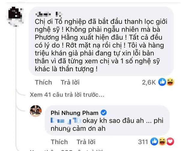 Netizen cà khịa Phi Nhung rớt mặt nạ, xin lỗi vì từng xem cô là thần tượng, nữ ca sĩ liền có cách đáp trả gây chú ý - Ảnh 2.