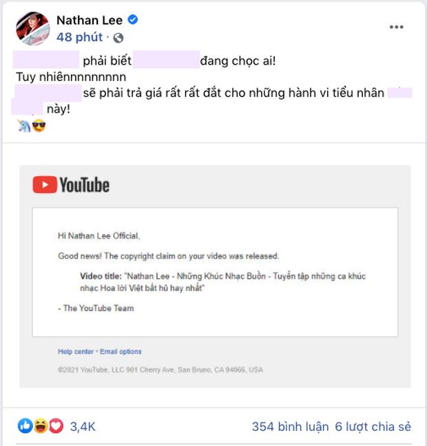Lại biến: Nathan Lee tố bị ca sĩ hạng Z đánh bản quyền, tuyên bố người này sẽ phải trả giá - Ảnh 2.
