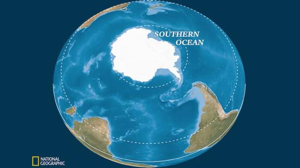 5 châu 4 bể chính thức là câu nói lỗi thời: Thế giới vừa có thêm đại dương thứ 5 - Ảnh 1.