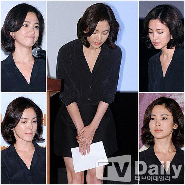 Tuyển tập phốt chấn động của Song Hye Kyo: Từ đại gia bao nuôi đến ngoại tình với bạn của chồng, sốc nhất lần cúi gập xin lỗi - Ảnh 11.