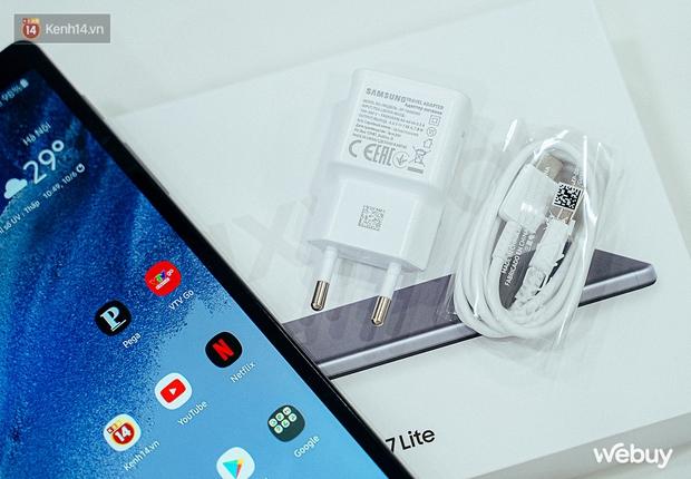 """Đây là Galaxy Tab A7 Lite: Giá phổ thông mà vẫn có tính năng """"sang - xịn - mịn"""", xem phim đọc báo chơi game nhẹ nhàng đều ổn áp - Ảnh 9."""