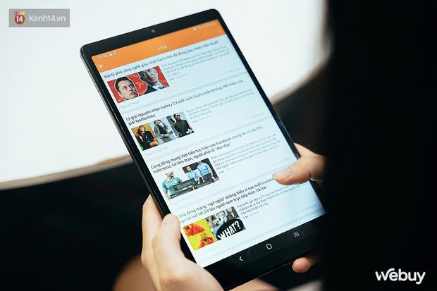 """Đây là Galaxy Tab A7 Lite: Giá phổ thông mà vẫn có tính năng """"sang - xịn - mịn"""", xem phim đọc báo chơi game nhẹ nhàng đều ổn áp - Ảnh 8."""
