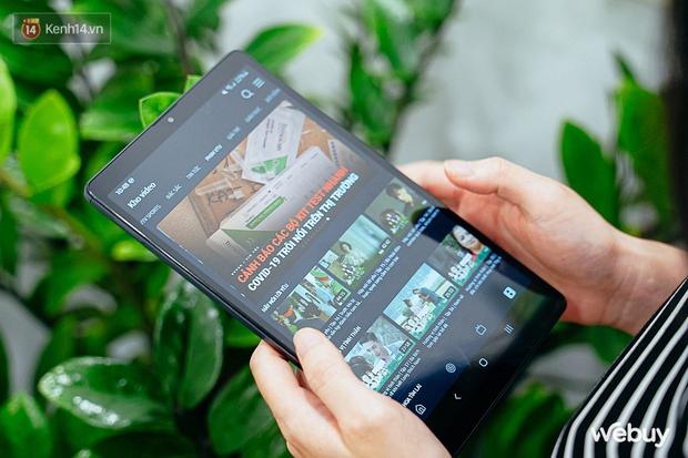 """Đây là Galaxy Tab A7 Lite: Giá phổ thông mà vẫn có tính năng """"sang - xịn - mịn"""", xem phim đọc báo chơi game nhẹ nhàng đều ổn áp - Ảnh 6."""