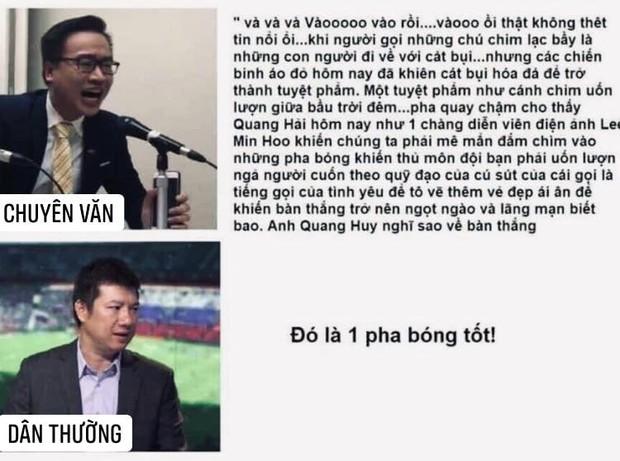 2 bình luận viên nổi tiếng trong làng bóng đá Việt Nam:  - Ảnh 1.