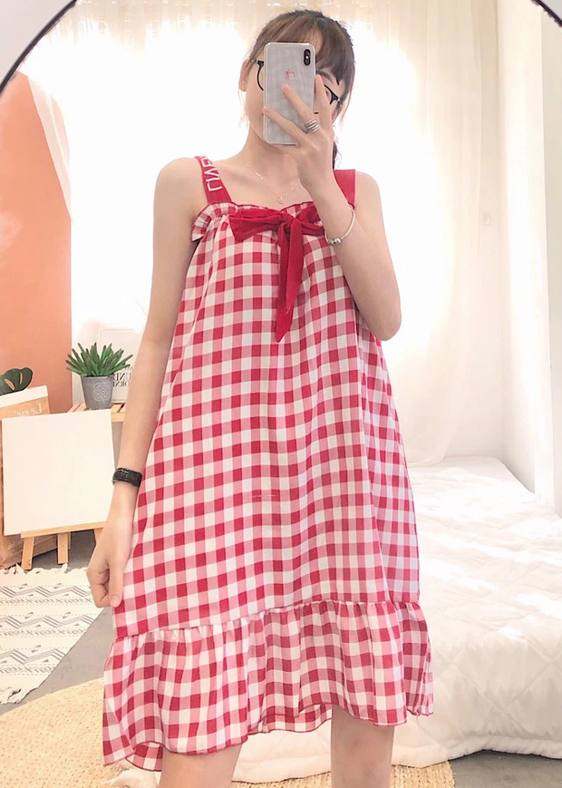 Ai bảo đi chơi mới được mặc đẹp, các nàng sắm váy ngủ giống rich kid Chao để xinh xắn ngay cả khi ở nhà nào - Ảnh 5.