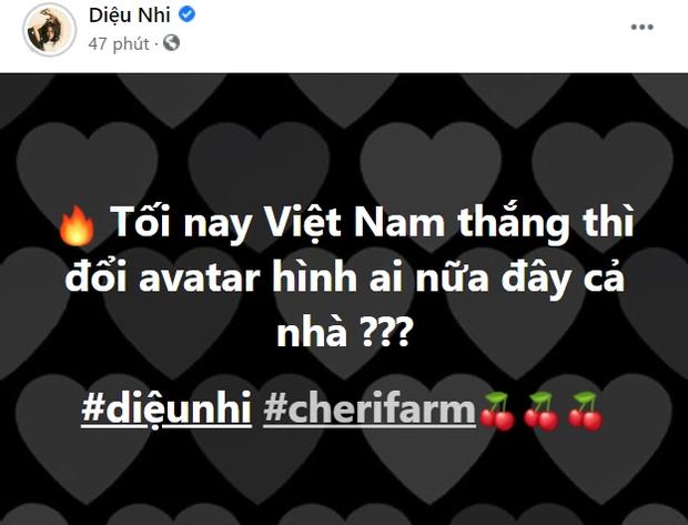Trước giờ G đấu Malaysia, Diệu Nhi bắt trend Việt Nam thắng thay avatar, nhưng sao bị  spam 1 đống tên Anh Tú thế này? - Ảnh 2.