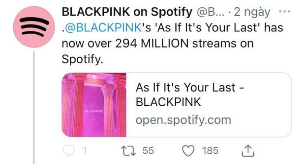 BLACKPINK đạt thành tích stream chưa từng có, vượt hàng loạt cái tên đình đám trong 4 năm qua - Ảnh 3.