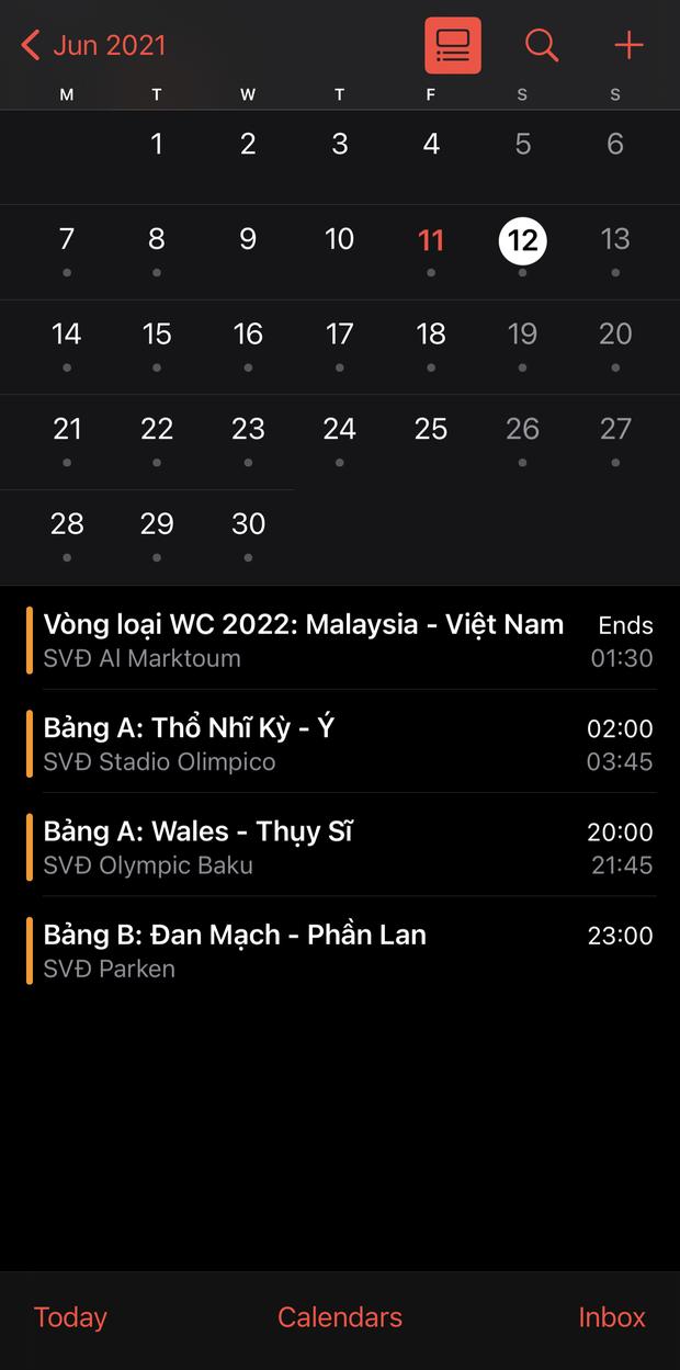 Mẹo hay tạo lịch xem Euro 2020 ngay trên iPhone chỉ trong một nốt nhạc! - Ảnh 8.