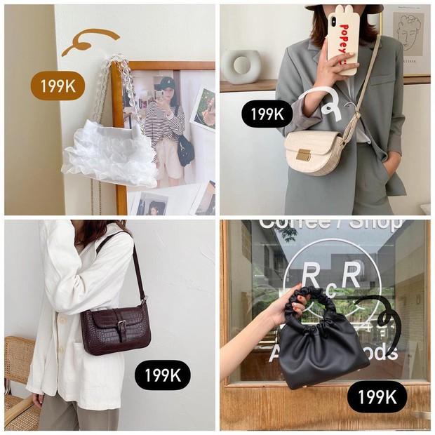 Hóng mua túi xách rẻ đẹp các nàng ơi: Loạt shop đang sale mạnh mà lại toàn mẫu xinh - Ảnh 5.