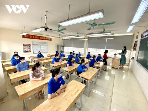 """Các quận huyện có học sinh diện """"F"""" tại Hà Nội gấp rút chuẩn bị cho kỳ thi vào lớp 10 - Ảnh 2."""