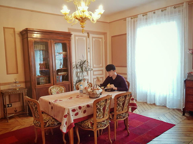 Nathan Lee nhớ nhà quá tiện khoe luôn nội thất khách sạn 2 nghìn tỷ ở Pháp, choáng váng vì mọi ngóc ngách tráng lệ như cung điện - Ảnh 3.