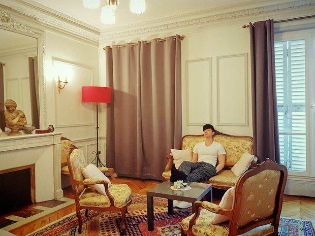 Nathan Lee nhớ nhà quá tiện khoe luôn nội thất khách sạn 2 nghìn tỷ ở Pháp, choáng váng vì mọi ngóc ngách tráng lệ như cung điện - Ảnh 9.