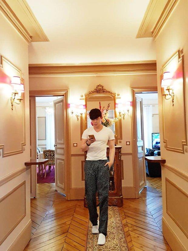 Nathan Lee nhớ nhà quá tiện khoe luôn nội thất khách sạn 2 nghìn tỷ ở Pháp, choáng váng vì mọi ngóc ngách tráng lệ như cung điện - Ảnh 11.