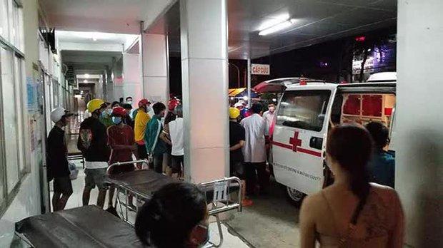 Truy sát tại bệnh viện khiến 1 người chết, 2 bị thương - Ảnh 1.