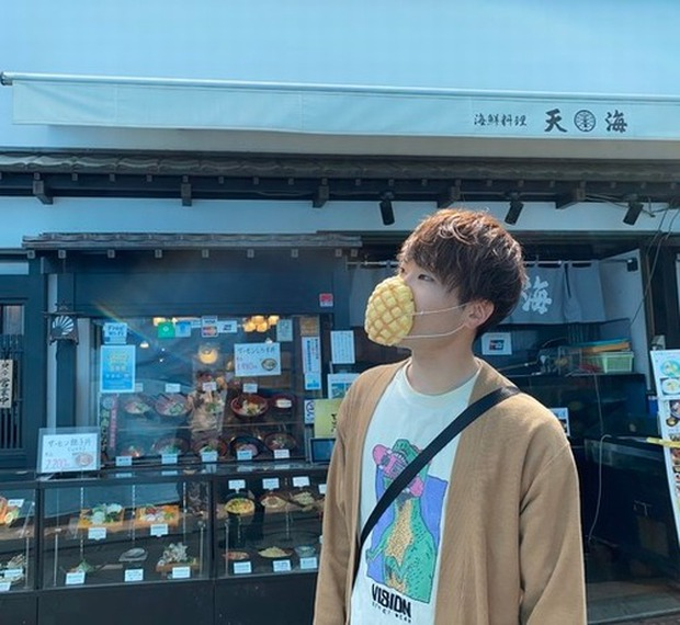 Nhật Bản nghiên cứu và phát triển mặt nạ búi dứa có thể ăn được, được chứng minh hiệu quả trong việc ngăn chặn các giọt bắn - Ảnh 1.