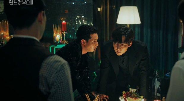 Penthouse 3 tập 2 sốc tận óc: Logan Lee tái sinh, tóc tai, xăm trổ nhìn phát hoảng? - Ảnh 6.