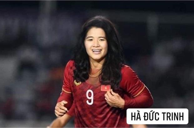 Hình ảnh các nữ cầu thủ ĐT Việt Nam khuấy đảo MXH, nhan sắc thầy Park gây bất ngờ nhất - Ảnh 14.
