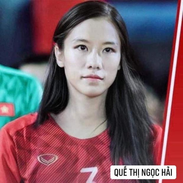 Hình ảnh các nữ cầu thủ ĐT Việt Nam khuấy đảo MXH, nhan sắc thầy Park gây bất ngờ nhất - Ảnh 7.