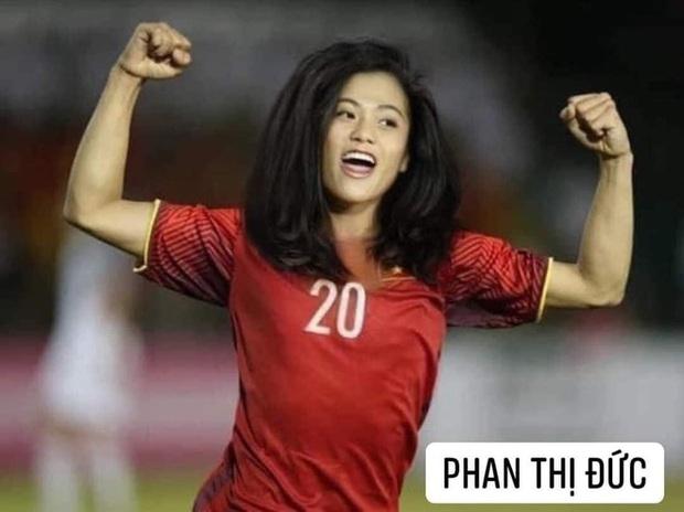 Hình ảnh các nữ cầu thủ ĐT Việt Nam khuấy đảo MXH, nhan sắc thầy Park gây bất ngờ nhất - Ảnh 8.