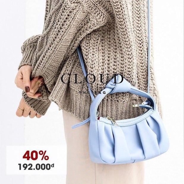 Hóng mua túi xách rẻ đẹp các nàng ơi: Loạt shop đang sale mạnh mà lại toàn mẫu xinh - Ảnh 3.