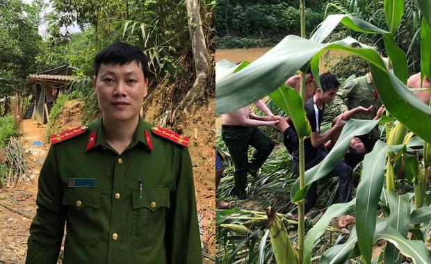 Tuyên Quang: Đại uý công an lao vào dòng nước lũ cứu sống người dân gặp nạn - Ảnh 1.