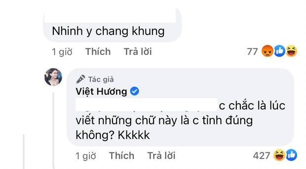 Việt Hương đăng clip ông xã giới tính linh hoạt hát karaoke nhưng bị anti-fan mắng khùng, cách phản dame sau đó cực sâu cay - Ảnh 5.