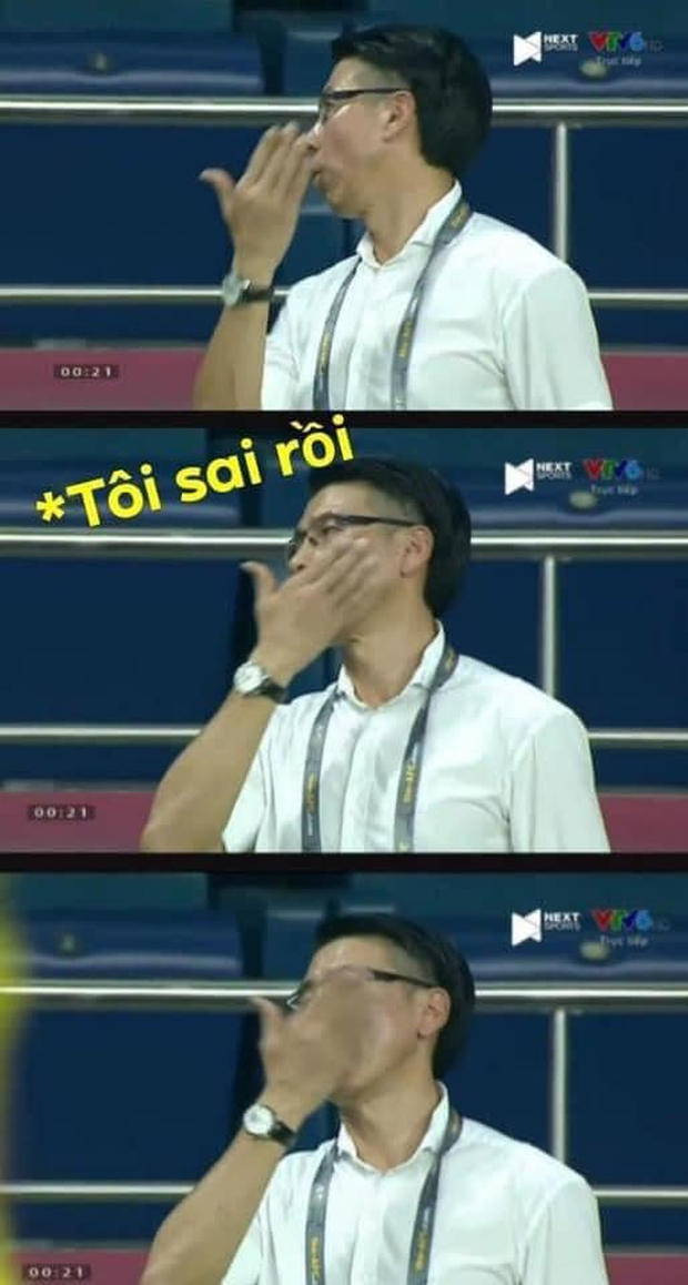 Việt Nam thắng Malaysia, meme cười bể bụng ngập tràn mạng xã hội, biểu cảm của nam cầu thủ đội bạn chiếm spotlight - Ảnh 1.