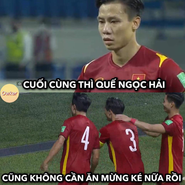Việt Nam thắng Malaysia, meme cười bể bụng ngập tràn mạng xã hội, biểu cảm của nam cầu thủ đội bạn chiếm spotlight - Ảnh 4.