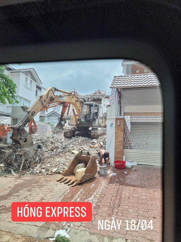 """Thuỷ Tiên bất ngờ bị tung bằng chứng nghi vấn """"lươn lẹo"""": Thông báo sửa nhà nhưng đập đi xây lại căn biệt thự 80 tỷ? - Ảnh 6."""