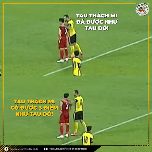 Việt Nam thắng Malaysia, meme cười bể bụng ngập tràn mạng xã hội, biểu cảm của nam cầu thủ đội bạn chiếm spotlight - Ảnh 14.