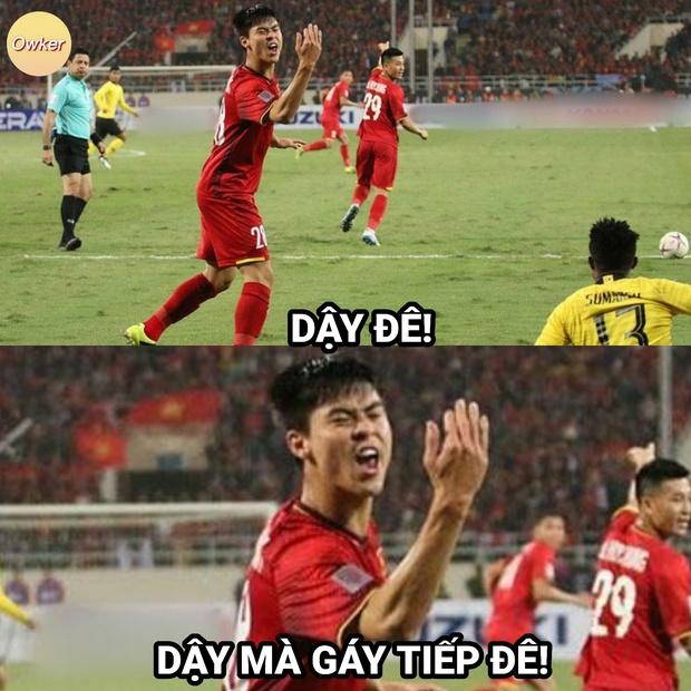Việt Nam thắng Malaysia, meme cười bể bụng ngập tràn mạng xã hội, biểu cảm của nam cầu thủ đội bạn chiếm spotlight - Ảnh 17.
