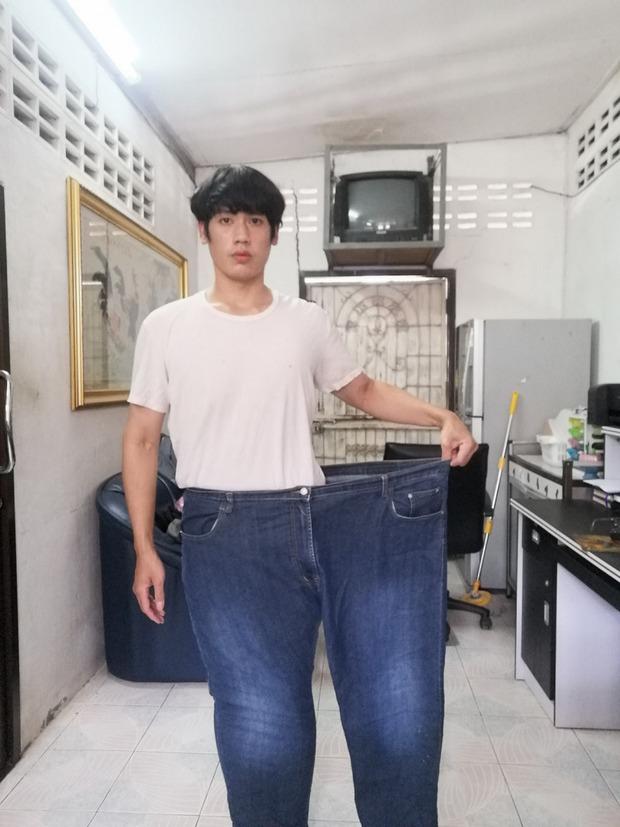 Chàng mập Thái Lan giảm một lèo 81kg rồi biến thành nam thần luôn - Ảnh 8.